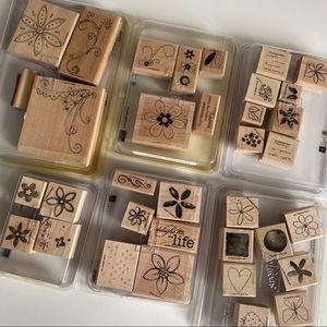 STAMPIN UP Floral Sets Flowers